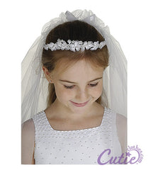 Girls Crown Veil - M8151