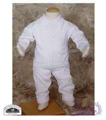 Boys Christening Outfit - CKNIT2