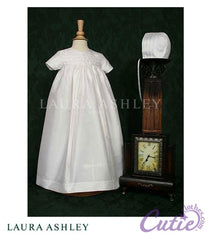 Silk Christening Gown - LDP03G
