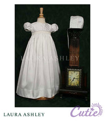 Silk Christening Gown - LDP04G