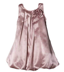 Mauve Girls Dress - 0242