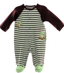 Striped Frog Footie-37-399