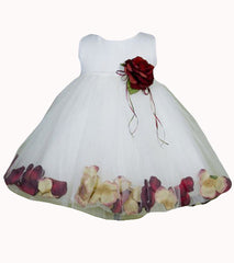 White Tulle Baby Dress - 0195B