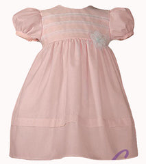 Pink Organza Baby Dress - OR66GS