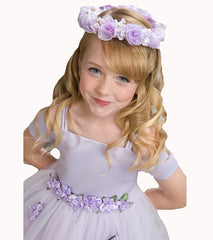 Lilac Flower Girl Dress - 1080