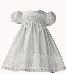 White Baby Dress - DP40WS