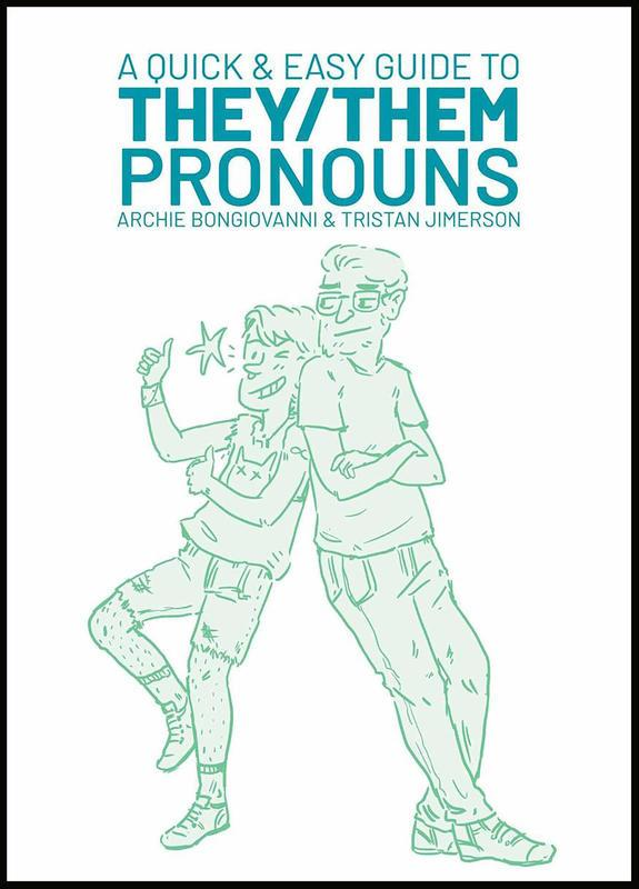 A Quick & Easy Guide to They/Them Pronouns Books microcosm