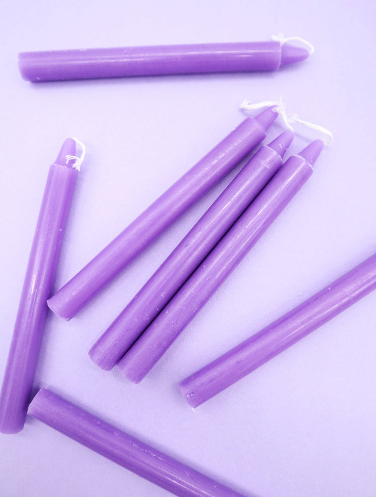 Chime Candles Thecirclesavannah Purple