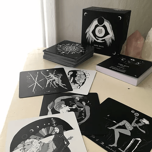 Dark Days Tarot Deck Tarot Dark Days Tarot