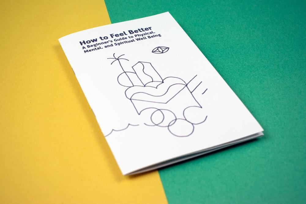 How to Feel Better Zine Books microcosm