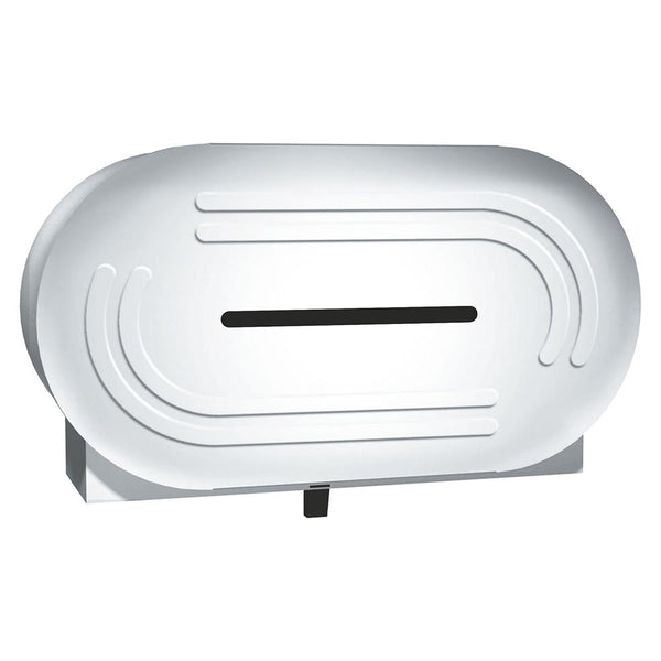 ASI 0039 Toilet Paper Dispenser Jumbo Roll Low Profile Surface Mounted - Satin - Prestige Distribution