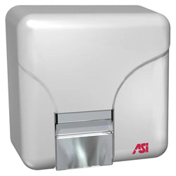 ASI 0144 Automatic Hand Dryer Steel Surface Mounted - White