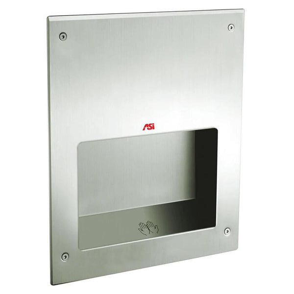 ASI 0198-MH-2 SAFE-Dri High Speed Hand Dryer Anti-Ligature Recessed - Satin