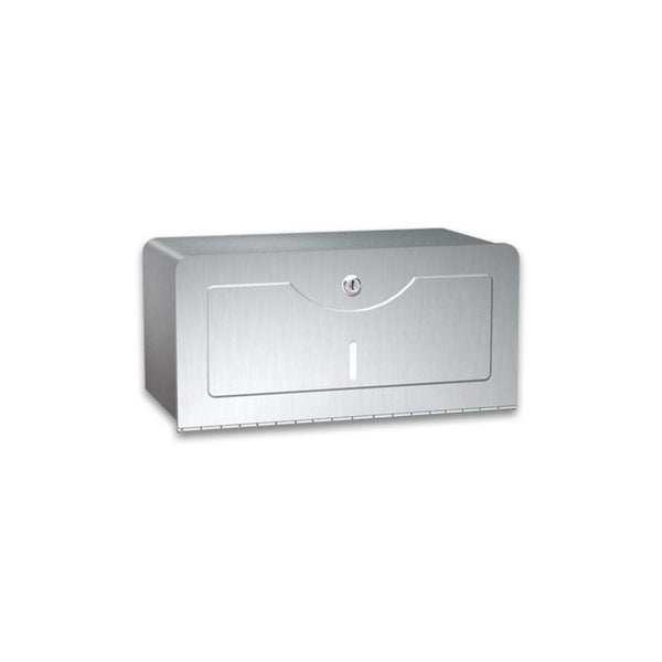 ASI 0245-SS Traditional Paper Towel Dispenser Surface Mounted - Satin - Prestige Distribution