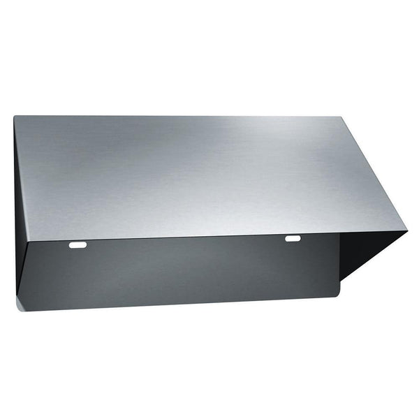 ASI 0267 Hood Vandal Proof Surface Mounted for Double Roll - Satin