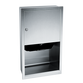 ASI 045210AC Traditional Automatic Paper Towel Dispenser Recessed - Satin