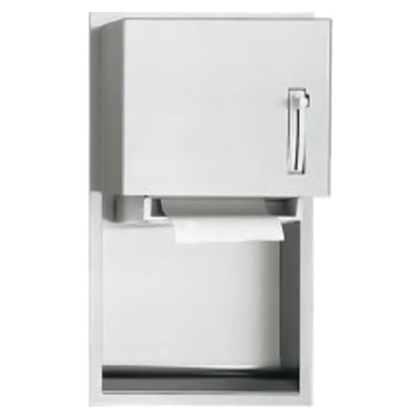 ASI 045224-9 Traditional Paper Towel Dispenser Surface Mounted - Satin