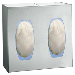 ASI 0501-2 Surgical Glove Dispenser 2 Box Surface Mounted - Satin