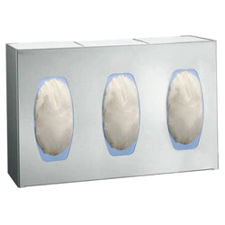 ASI 0501-3 Surgical Glove Dispenser 3 Box Surface Mounted - Satin