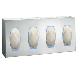 ASI 0501-4 Surgical Glove Dispenser 4 Box Surface Mounted - Satin