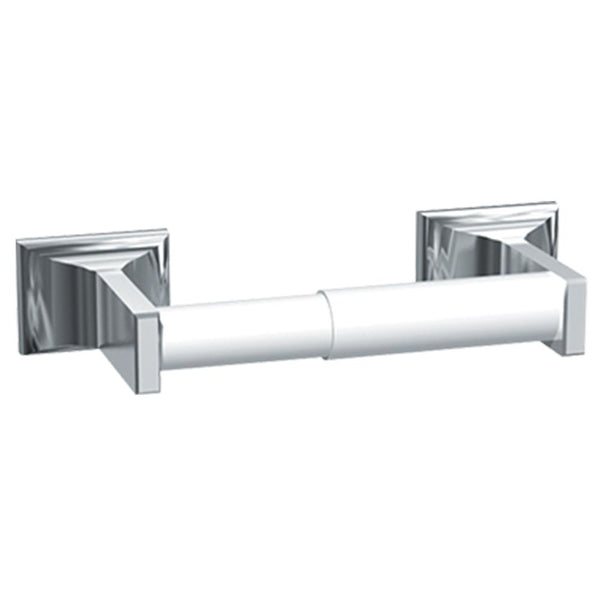 ASI 0705-Z Toilet Paper Holder Single Chrome Plated Surface Mounted