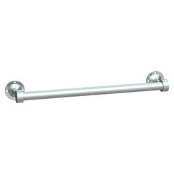 ASI 0755-SS Towel Bar Heavy Duty Surface Mount - Satin Stainless Steel