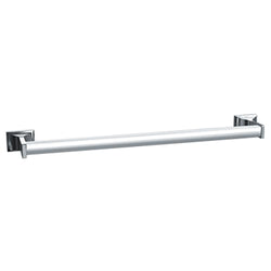 ASI 0755-Z Towel Bar Round Chrome Plated Zamac Surface Mount