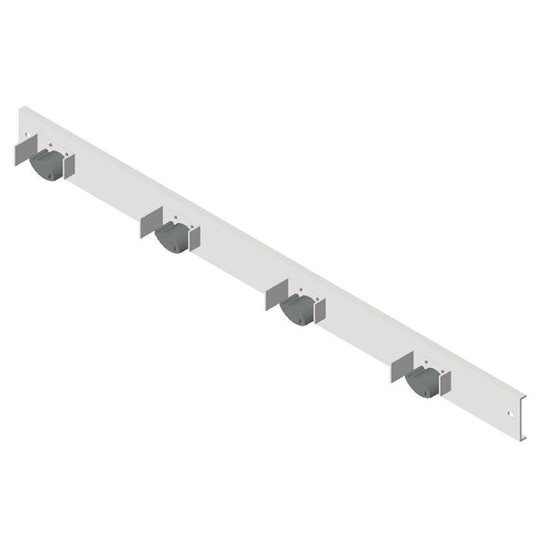 ASI 0796-4 Mop Holders Rack Surface Mounted - Satin