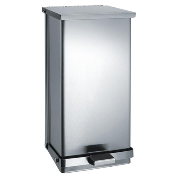 ASI 0815 Waste Receptacle Foot Operated 8 Gal. Freestanding - Satin