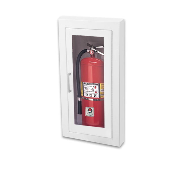 JL Industries 1016F10 Ambassador Fire Extinguisher Cabinet Full Glass w/ Pull Handle
