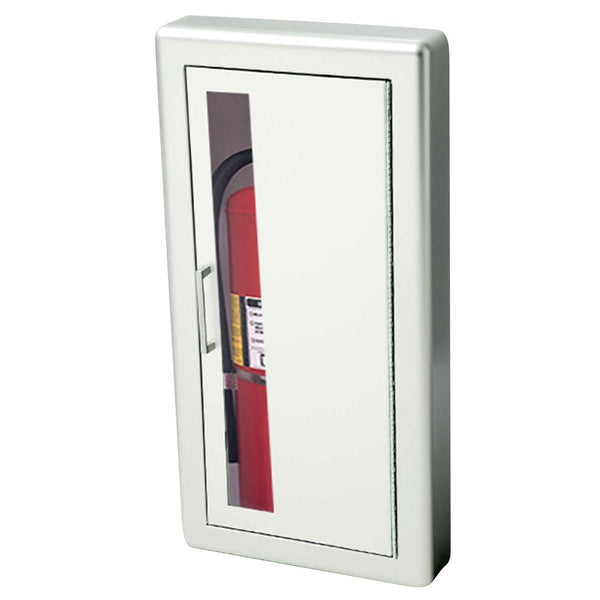 JL Industries 1027V10FX2 Academy Fire Extinguisher Cabinet Vertical Duo w/ Pull Handle Fire Rated