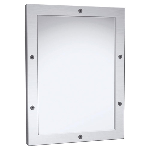 ASI 105-14 Mirror Security Framed Front Mounted - Satin