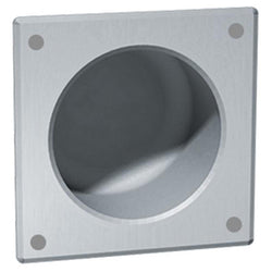 ASI 110-13 Security Toilet Paper Holder Square Front Mount Recessed - Satin