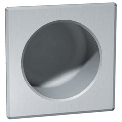 ASI 110-1 Security Toilet Paper Holder Square Chase Mount Recessed - Satin