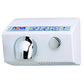 World Dryer 12200000 NOVA 5 Push Button Hand Dryer Aluminum Surface Mounted - White