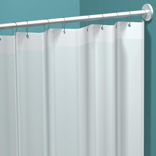 "ASI 1200-V42 Shower Curtain Vinyl 42""W x 72""H - White - Prestige Distribution"