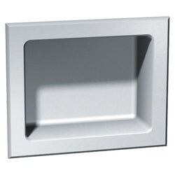 ASI 140 Soap Dish Stainless Steel Recessed - Satin