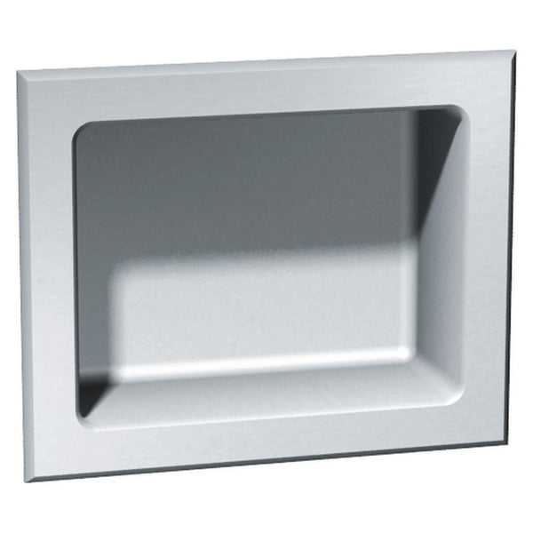 ASI 140 Soap Dish Stainless Steel Recessed - Satin - Prestige Distribution
