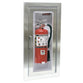 JL Industries 1535F25FX2 Clear VU Fire Extinguisher Cabinet Clear Acrylic Bubble Full Glazing w/ Pull Handle Fire Rated