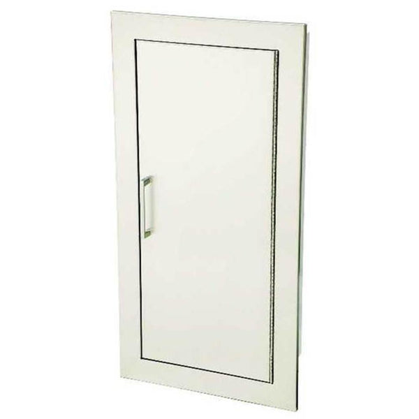 JL Industries 1835S21FX2 Cosmopolitan Fire Extinguisher Cabinet Solid Door w/ Pull Handle Fire Rated