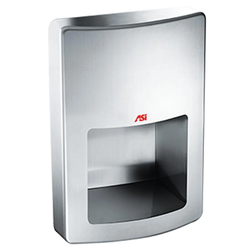 ASI 20199-2 Roval High Speed Automatic Hand Dryer Semi-Recessed - Satin