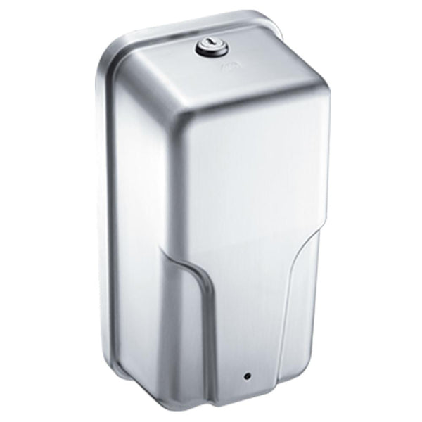 ASI 20364 Roval Automatic Soap & Hand Sanitizer Dispenser 33.8oz. Liquid Surface Mounted - Satin