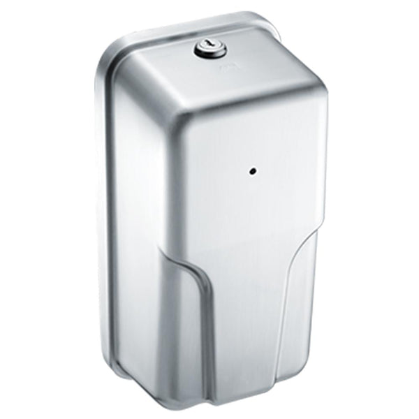 ASI 20365 Roval Automatic Soap & Hand Sanitizer Dispenser 33.8oz. Foam Surface Mounted - Satin