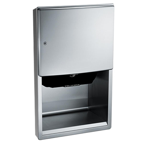 ASI 204523A-6 Roval Automatic Paper Towel Dispenser Semi-Recessed - Satin - Prestige Distribution