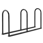 Bike Fixation 2137C Stadium Rack Angled 6 Bike - Galvanized - Prestige Distribution
