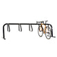 Bike Fixation 2408 City Rack 5 Bike Single Sided Below Grade Mount - Galvanized