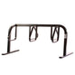 Bike Fixation 2438 City Rack 9 Bike Double Sided Below Grade Mount - Galvanized