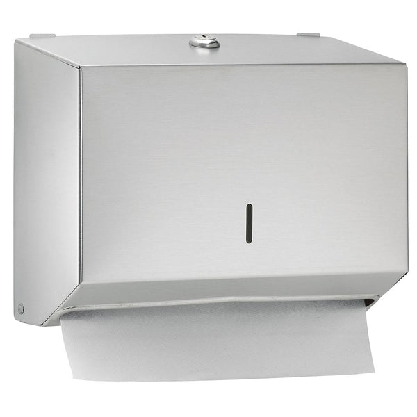 Bradley 252-0000 Bradex Paper Towel Dispenser Surface Mounted - Satin