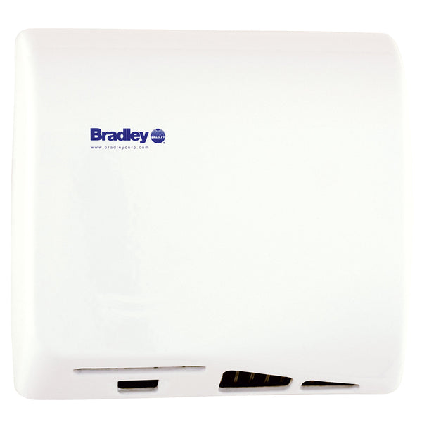 Bradley 2902-2873 Aerix High Speed Hand Dryer Adjustable Surface Mounted - White Epoxy