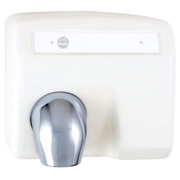 Bradley 2903-2800 Aerix High Speed Hand Dryer Automatic Surface Mounted - White